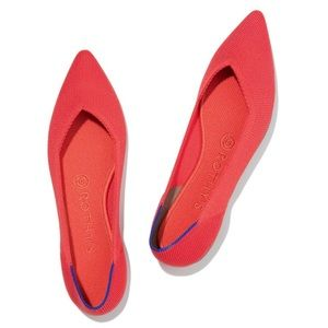 Rothy's The Point in Flame Size 8.5 New with Box